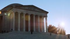 Thomas Jefferson Memorial Stock Footage