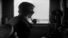 1919 - Sailors at Sea 22 - stock footage