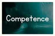 Stock Illustration of competence concept