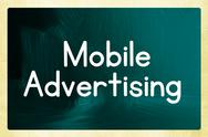 Stock Illustration of mobile advertising concept