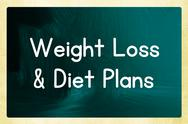 Stock Illustration of weight loss & diet plans