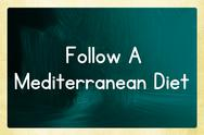 Stock Illustration of follow a mediterranean diet