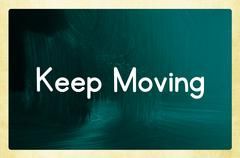 Stock Illustration of keep moving