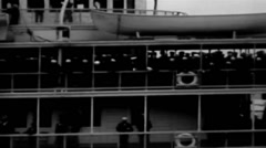 1919 - SS Commonwealth 02 Stock Footage