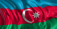 Stock Video Footage of Flag of Azerbaijan