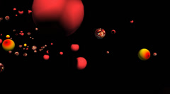 Marble Explosion (Version 1 of 2) Stock Footage
