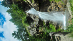 Waterfall - time lapse Stock Footage