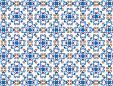 Stock Illustration of a brightly colored mosaic pattern