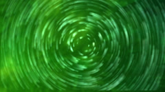 Abstract Spiral Green Motion background Stock Footage