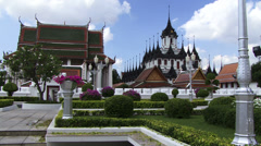 Temple in Thailand Bankok Stock Footage