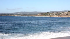 Carmel by the Sea California - stock footage