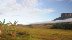 Roraima plateau. Venezuela - stock footage