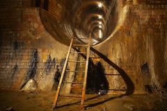 Mystery underground Stock Photos