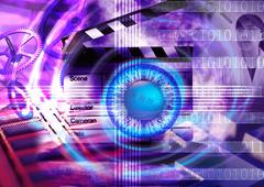 Telecommunications industry communication technology Stock Illustration
