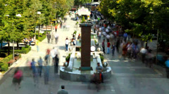 Time-lapse City Of Ankara Stock Footage