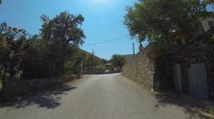 Church On Zakynthos Island, Greece Stock Footage