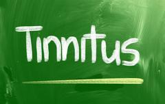 Tinnitus concept Stock Illustration