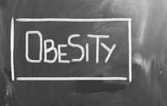 Stock Photo of obesity concept