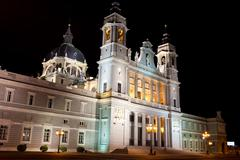 Almudena Cathedral Stock Photos