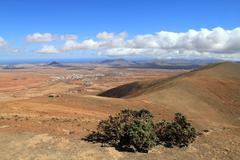Vuoristomaisemia maisema, Fuerteventura, Espanja Kuvituskuvat