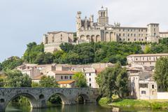 beziers (france) - stock photo