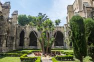 Stock Photo of narbonne, cathedral cloister