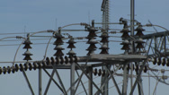 Stock Video Footage of electricity plant closeup 3