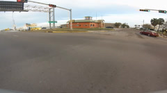 South Padre Island drive time lapse fast 2 Stock Footage