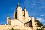Stock Photo of alcazar in segovia, spain