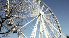 Ferris Wheel -Carnival - stock footage