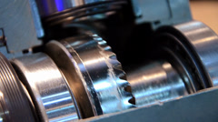 Crown and pinion Stock Footage