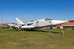 """The sukhoi su-24 """"fencer"""" supersonic, all-weather attack aircraft Stock Photos"""