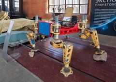 "Layout planetary rover ""lunokhod-1"" Stock Photos"