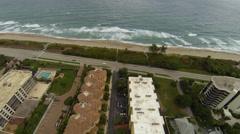 South Florida Beach Stock Footage