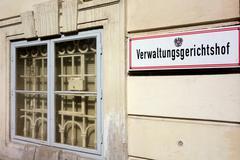 Austria, vienna, administrative court Stock Photos