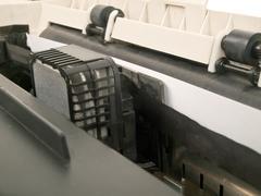 dot matrix printer - stock photo