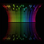 Abstract music equalizer Stock Illustration