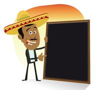 Mexican menu Stock Illustration