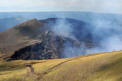 Volcano Masaya NP, Nicaragua - stock photo