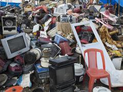 Stock Photo of bulk junk storage