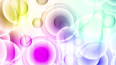 Abstract background. Color spheres 3 Stock Footage