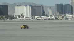 Airport Tarmac, Las Vegas 3 - stock footage