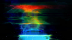 Abstract fire background Stock Footage