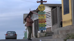 Chile at the Pacific Coast Stock Footage