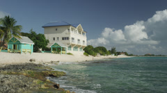 Grand Cayman, Tourist resort - stock footage