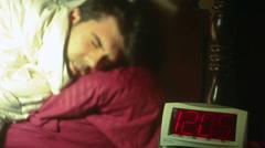 Sleeping till noon until Stock Footage