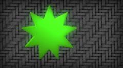 bahai faith symbolism symbol - stock footage