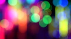 Stock Video Footage of Defocus multicolor background
