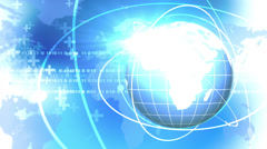 Global Internet. Business background - stock footage