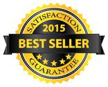 Stock Illustration of Best Seller Five Stars Golden Badge Award 2015